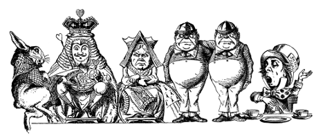Alice In Wonderland Original Characters Pictures to Pin on ...
